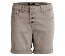 Shorts Boyfriend-Fit- braun