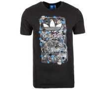 T-Shirt 'Culture Clash' schwarz