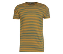 T-Shirt senf / petrol