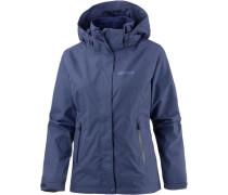 'Alpenstock' Outdoorjacke violettblau