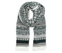 Schal 'osanna1' schwarz / weiß