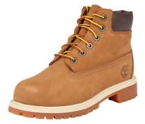 Schnürstiefel 'Premium Boot' braun