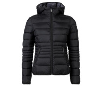 Jacke in Light Down-Optik schwarz
