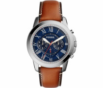 Chronograph »Grant« blau / braun