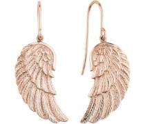 Paar Ohrhaken 'Flügel Ere-Wing-R' rosegold