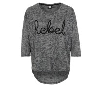 Longsleeve 'Grey Rebel' grau