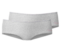 Panty (2 Stück) graumeliert