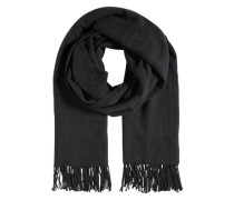 Schal mit Wolle 'Viamuse' graumeliert