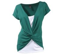 Shirt 2-in-1 grün