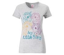 """T-Shirt """"My Little Pony"""" türkis / gelb / rotviolett / weißmeliert"""