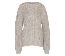 Strickpullover 'making Melody' grau