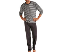 Pyjama dunkelgrau