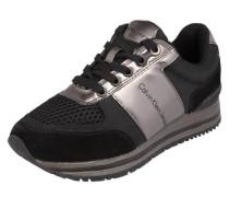 Sneaker 'Tanya' rosegold / schwarz