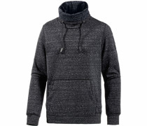 Sweatshirt Herren schwarzmeliert