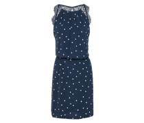 Kleid 'Willow' navy / weiß