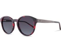 Sonnenbrillen Leopold Funky Red rot / schwarz