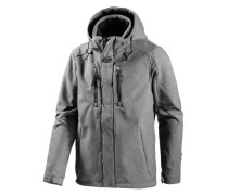 Softshelljacke 'Graham' grau