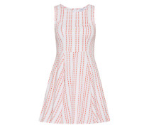 Sommerkleid 'in0075' orange / weiß