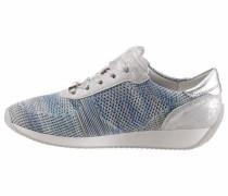 Sneaker 'Lissabon' blau / grau / silber
