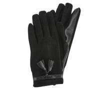 Elegante Fingerhandschuhe schwarz