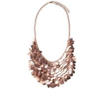 Statement-Halskette rosegold