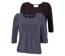 Shirts navy / schwarz
