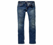 Straight-Jeans 'Ryan' blue denim