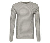 Shirt 'onsARON LS Fitted Tee' weiß