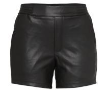 Kunstledershorts 'vipen Shorts /1' schwarz
