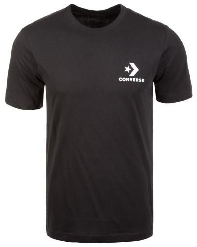 T-Shirt 'Star Chevron' schwarz