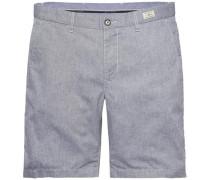 Kurze Hose »Brooklyn Short Cotton Oxford« grau
