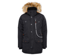Wintermantel 'Padded' schwarz