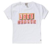 T-Shirt für Mädchen weiß
