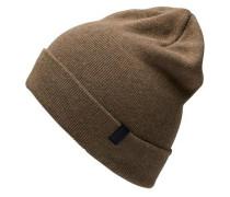 Klassische Mütze braun