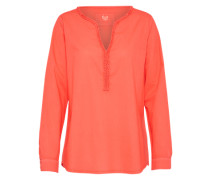 Bluse 'Rosemarie' orangerot