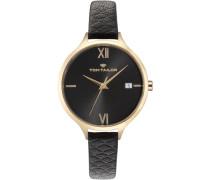 Armbanduhr »5416001« schwarz