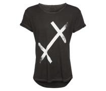 T-Shirt 'XX Busted' schwarz