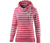 Sweatshirt dunkelpink
