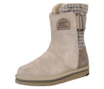Snowboots 'Newbie' beige / silber