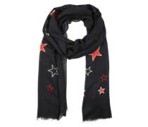 Schal 'Stars' blau