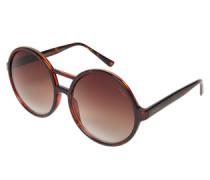 Oversize-Sonnenbrille: 'Coco' braun