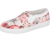 Slipper pink / weiß