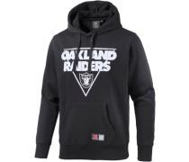 Athletic Oakland Raiders Hoodie Herren schwarz