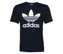 T-Shirt mit Rundhalsausschnitt dunkelblau