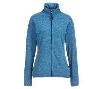 Fleecejacke 'angervo' blau