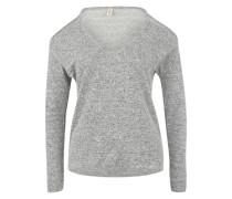 Schulterfreies Sweatshirt 'Inari' graumeliert