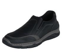 Slipper aus Leder schwarz