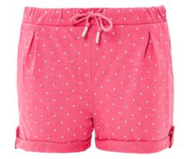 Bequeme Jersey-Hotpants pink