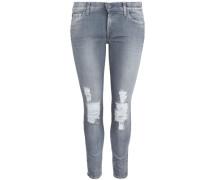 Jeans 'the Skinny Crop' grau