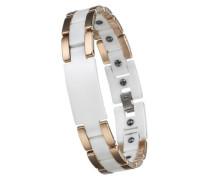 Armband mit Keramik und Magneten weiß